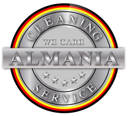 Alemania Cleaning Service Logo silber final