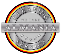 Almania Cleaning Service Logo